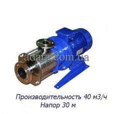 Насос ЦНС 40-30 центробежный секционный (ЦНС-40/30) пищевая нержавеющая сталь