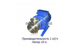 Насос ЦНСк-1-10 центробежный секционный (ЦНС-1/10) пищевая нержавеющая сталь