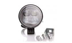 Фара LED круглая 12W, 4 лампы, узкий луч <ДК>