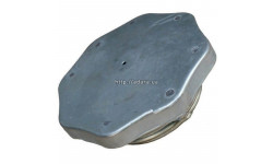 Крышка топливного бака (металл) 45-1103010 СБ (ЮМЗ-6, Т-25, Т-16, Т-150)