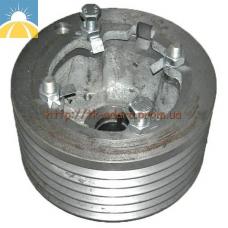 Шкив двигателя привода молотилки (левая сторона) D=270 увеличенный