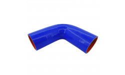 Патрубок силиконовый (L=150х150мм угол 135° d=80 s=5мм)
