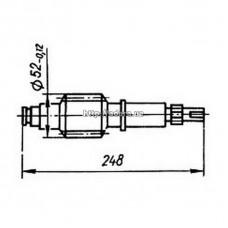 Червяк КШП-3М 03.34.11А (погрузчик Р6-КШП-6) z=1, m=4