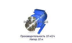 Насос ЦНСк-10-10 центробежный секционный (ЦНС-10/10) пищевая нержавеющая сталь