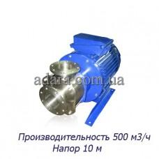 Насос ЦНС 500-10 центробежный секционный (ЦНС-500/10) пищевая нержавеющая сталь