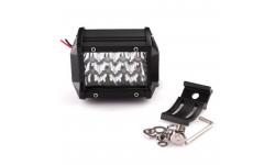 Фара LED дополнительная 12W, 12 ламп узкий луч <ДК>