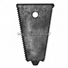 Пластина противорежущая жатки (противорез) Н.066.56 комбайна Нива СК-5М