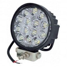 Фара рабочая LED 42W/30° (14x3W, 3080 lm, узкий луч 30°) Юбана