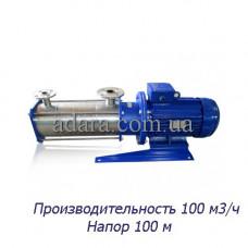 Насос ЦНС 100-100 центробежный секционный (ЦНС-100/100) пищевая нержавеющая сталь