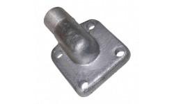 Фланец НШ-32 угловой с наружной резьбой М27х1,5 под ключ 32