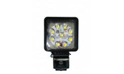 Фара рабочая LED 27W/30⁰ (9x3W, 3100 lm, узкий луч 30⁰, IP67) Wassa ФР-230