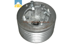 Шкив двигателя привода молотилки (левая сторона) D=250