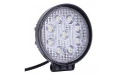 Фара LED круглая 27W, 9 ламп, 5D <ДК>