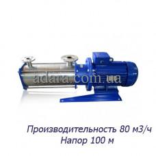 Насос ЦНС 80-100 центробежный секционный (ЦНС-80/100) пищевая нержавеющая сталь
