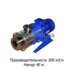 Насос ЦНС 300-40 центробежный секционный (ЦНС-300/40) пищевая нержавеющая сталь