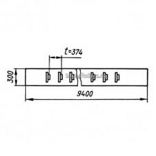 Лента транспортёрная КШП-5 5.02.21.00А СБ (погрузчик Р6-КШП-6) 10м