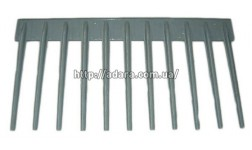Решетка пальцевая стрясной доски
