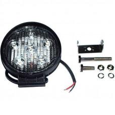 Фара рабочая LED 18W/30° (6x3W, 1260 lm, узкий луч 30°) Юбана