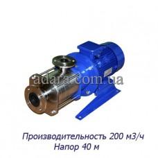 Насос ЦНС 200-40 центробежный секционный (ЦНС-200/40) пищевая нержавеющая сталь