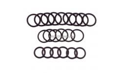 Набор колец уплотнений фланцев гидрораспределителя Р-100 (21 шт + 4 шт)