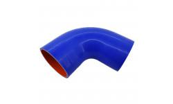 Патрубок силиконовый (L=150х150мм угол 90° d=100 s=5мм)