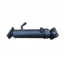 Гидроцилиндр 143-8603023 подъема кузова КамАЗ 3-х штоковый Нефаз (прицеп), новый