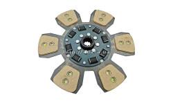 Диск 80-1601130 сцепления МТЗ (6 лепестков) (керамика)