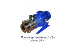 Насос ЦНС 1-30 центробежный секционный (ЦНС-1/30) пищевая нержавеющая сталь