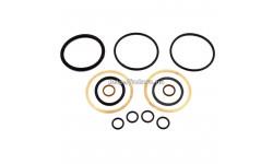 Ремкомплект гидроцилиндра поворота Т-150К, Т-151К, БДТ-7 (шток d-50) Ц80х50х280 (резиновые манжеты)