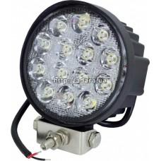 Фара рабочая LED 42W/60° (14x3W, 3080 lm, широкий луч 60°) Юбана