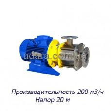 Насос ЦНС 200-20 центробежный секционный (ЦНС-200/20) пищевая нержавеющая сталь
