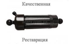 Гидроцилиндр подъема кузова ГАЗ 3-х штоковый с шарами (реставрированный)