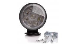 Фара LED круглая 27W, 9 ламп, 6D <ДК>