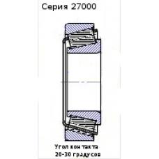 Подшипник 27606 (32306B)
