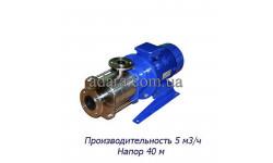 Насос ЦНС 5-40 центробежный секционный (ЦНС-5/40) пищевая нержавеющая сталь