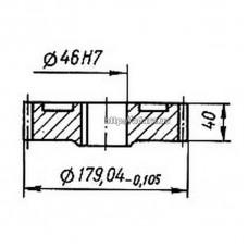 Колесо зубчатое КШП-3М 03.04.39М (погрузчик Р6-КШП-6) z=43, m=4