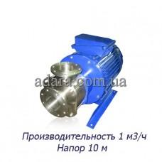 Насос центробежный секционный ЦНСк-1-10 (ЦНС-1/10) пищевая нержавеющая сталь