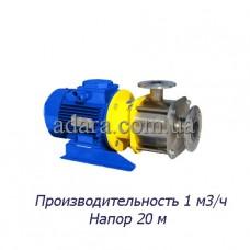 Насос центробежный секционный ЦНСк-1-20 (ЦНС-1/20) пищевая нержавеющая сталь