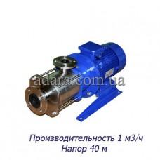 Насос ЦНС 1-40 центробежный секционный (ЦНС-1/40) пищевая нержавеющая сталь