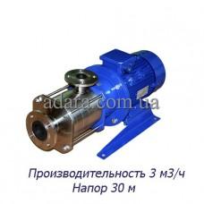 Насос центробежный секционный ЦНСк-3-30 (ЦНС-3/30) пищевая нержавеющая сталь