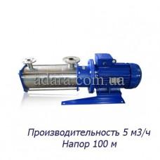 Насос центробежный секционный ЦНСк-5-100 (ЦНС-5/100) пищевая нержавеющая сталь