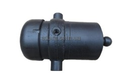 Гидроцилиндр подъема кузова газ, саз 3502, 3507 с цапфами 4-х штоковый реставрированный