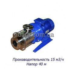 Насос ЦНС 15-40 центробежный секционный (ЦНС-15/40) пищевая нержавеющая сталь
