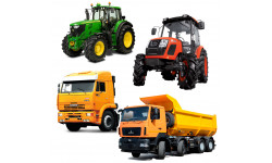 Запчасти к другим тракторам и грузовым авто