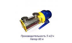 Насос ЦНС 5-60 центробежный секционный (ЦНС-5/60) пищевая нержавеющая сталь