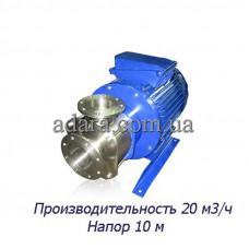 Насос ЦНС 20-10 центробежный секционный (ЦНС-20/10) пищевая нержавеющая сталь