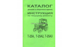 Каталог сборочных единиц Т-25А (ВТЗ)