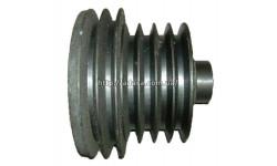 Шкив двигателя с измельчителем или шкив молотарки (двигатель СМД)