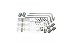 Комплект для подключения распределителя РП70, МРС70 (тяги + рычаги + штуцера + шайбы) полный