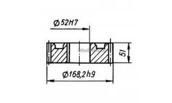 Колесо зубчатое КШП-3М 03.04.41М (погрузчик Р6-КШП-6) z=32, m=5